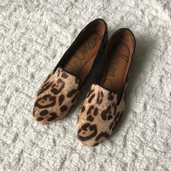 Sam Edelman Jordy Leopard Loafers